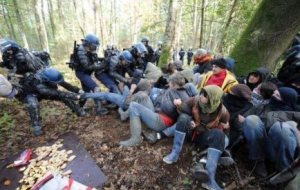 Fighting for the countryside in France