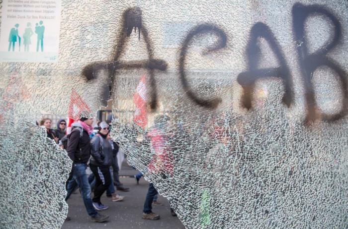 The graffiti says it all