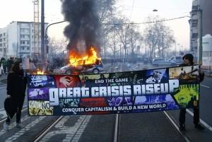 """""""Conquer capitalism!"""""""