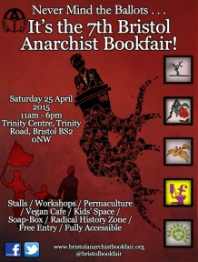 Bristol bookfair poster