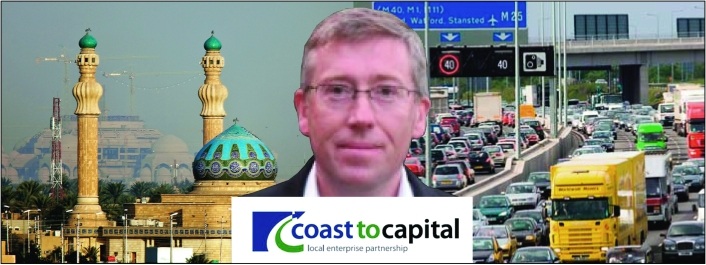 Martin Heffer: developing capitalist infrastructure from Iraq to the M25