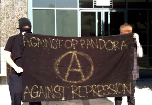 Solidarity with Spanish anarchists