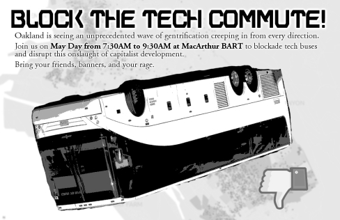 Block the tech commute