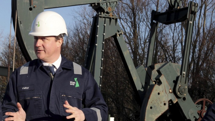 Regulations? David Cameron won't let anything stand in the way of the fracking industry