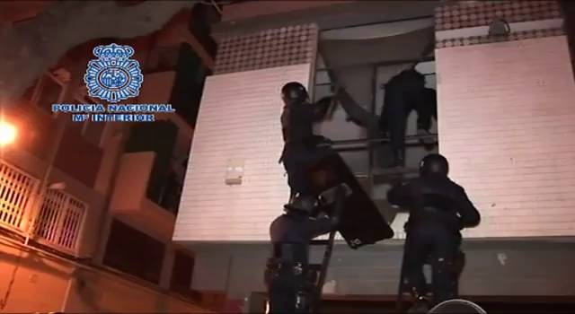 Police raids against anarchists have been heavily hyped by Spanish corporate media