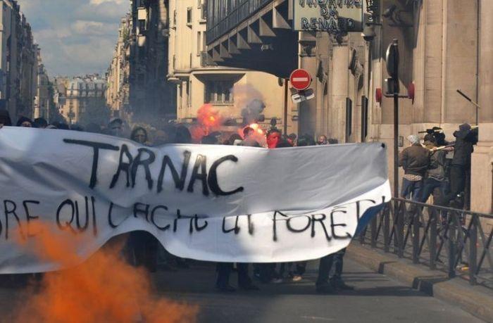 tarnac demo