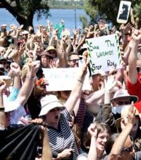 bibra protest