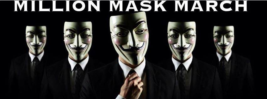 million mask march