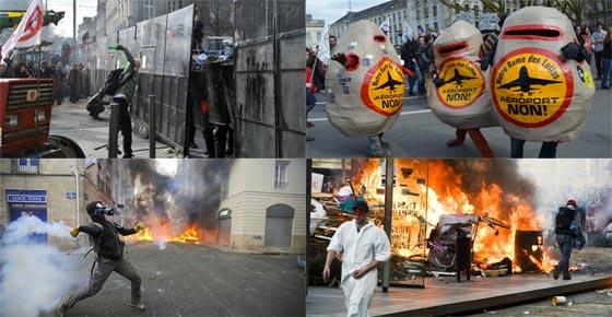 nantes protests