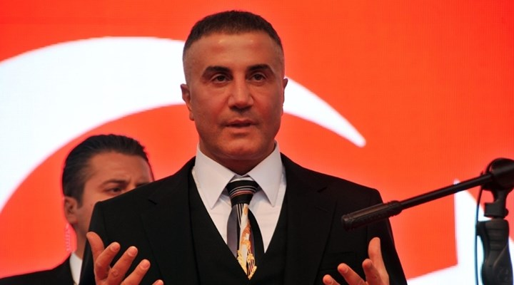 Right-wing mafia boss Sedat Peker