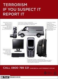 terrorism leaflet