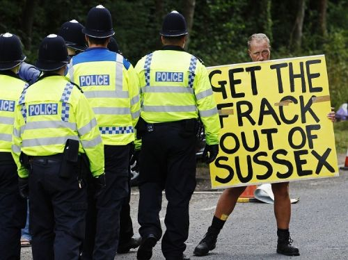 fracking sussex