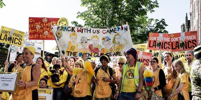 Lancashire protest