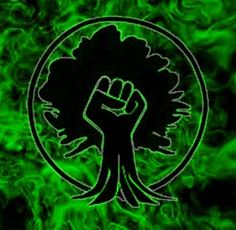 green anarchy tree-fist