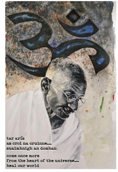 gandhi poster 2