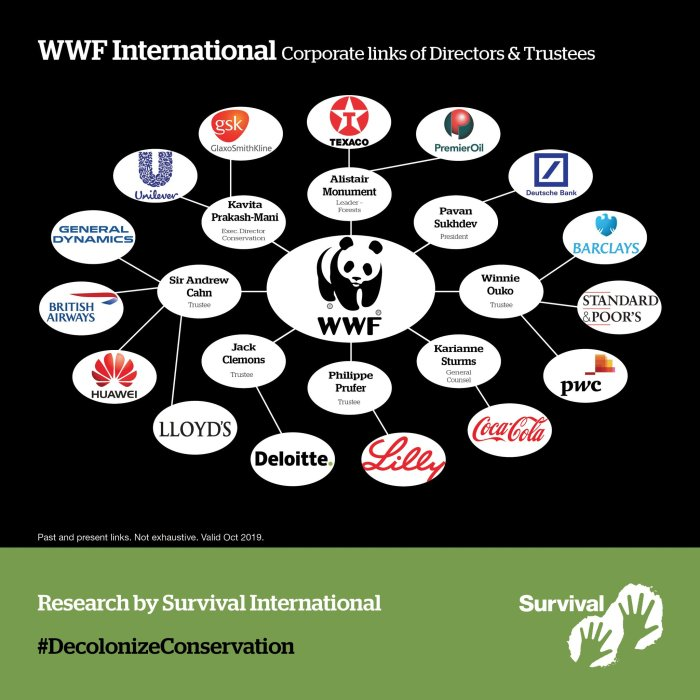 WWF corporate links