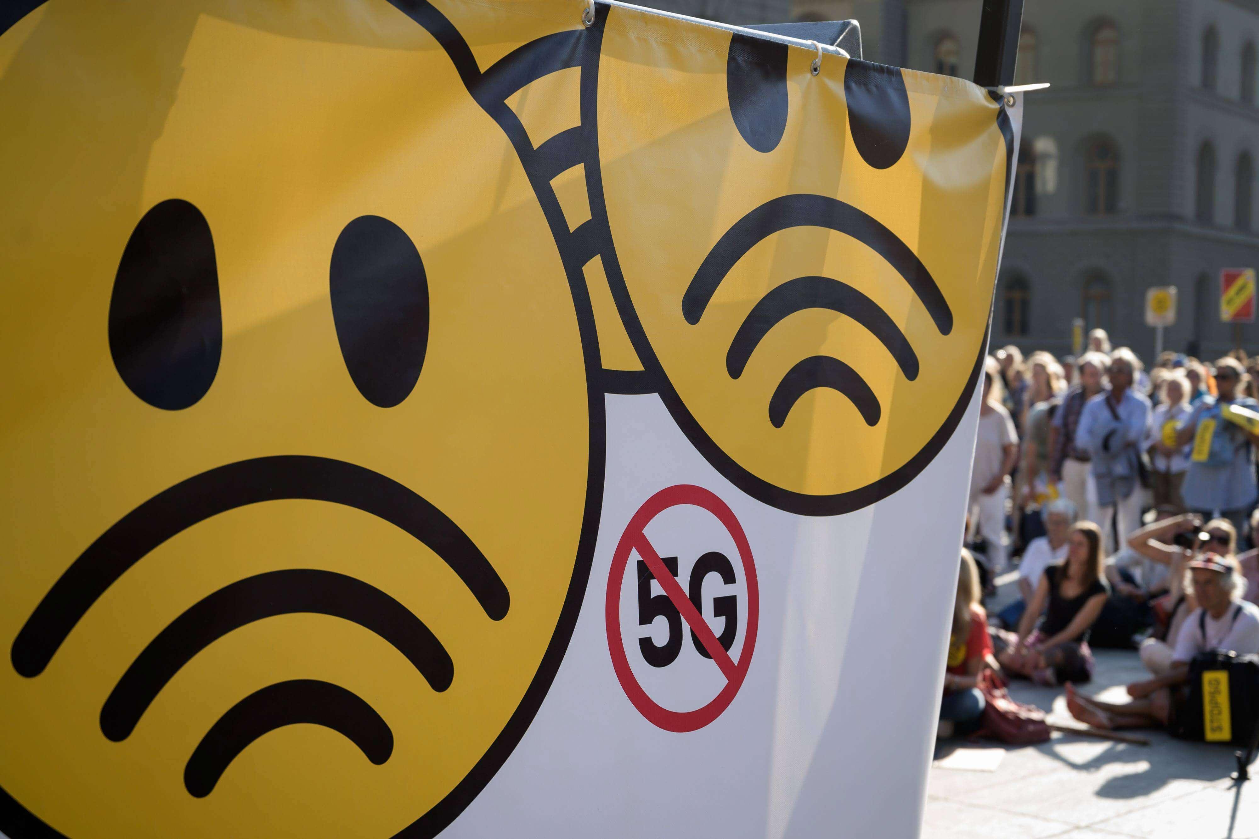 5G protest switz