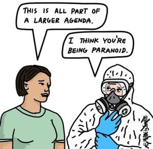 covid paranoia