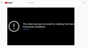 Erickson video censored