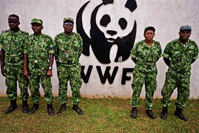 WWF-funded guards