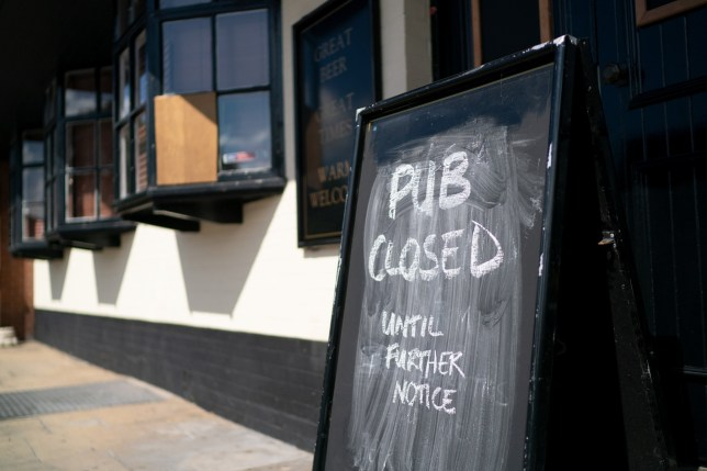Pubs-closed