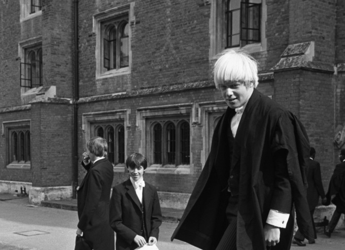 Boris Johnson youth