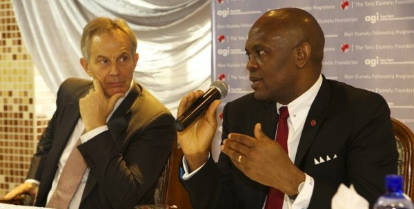 Elumelu and Blair