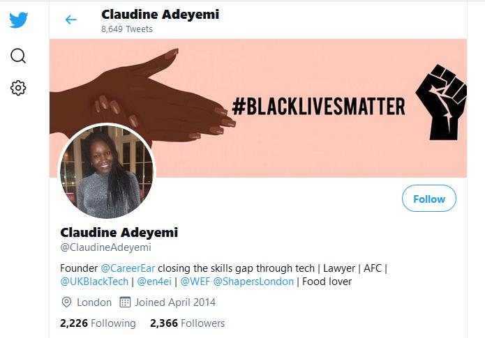 GS Claudine Adeyemi