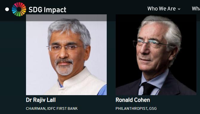 Ronald Cohen SDG impact
