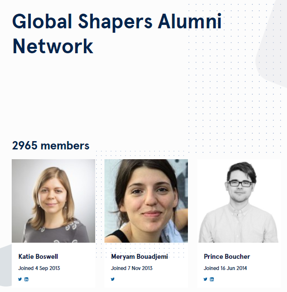 katie boswell global shaper