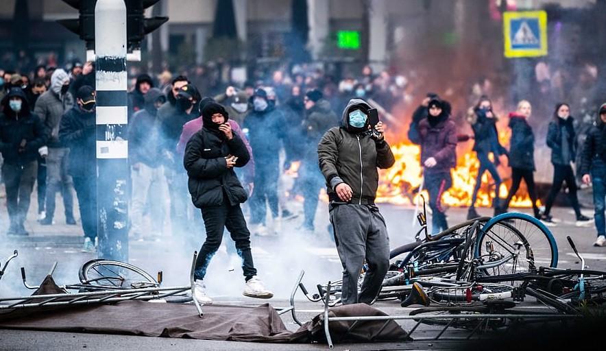 Netherland riots