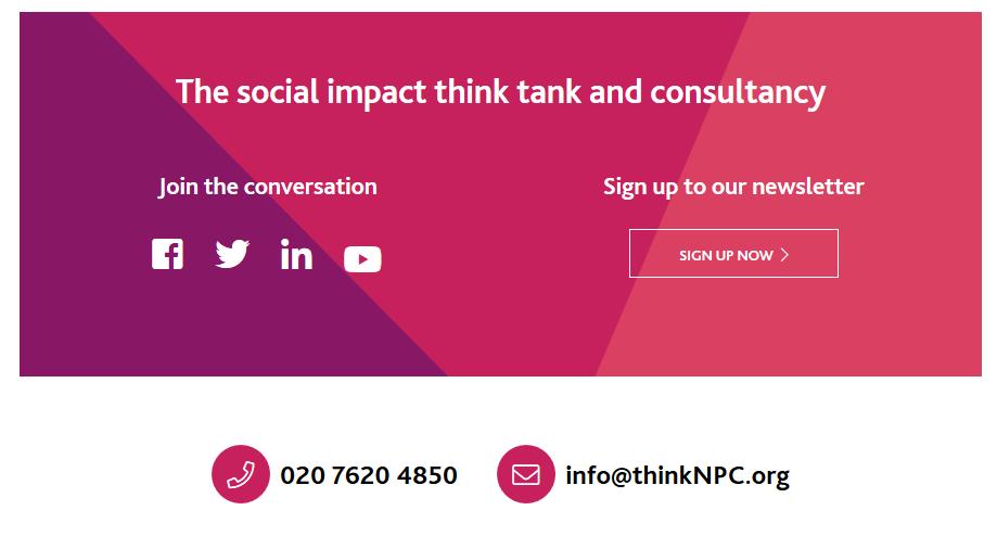 NPC social impact