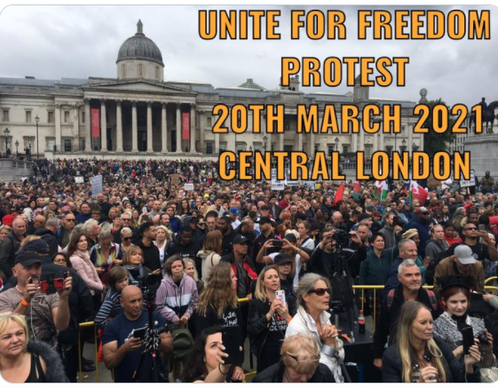 Unite for freedom 20.3.21